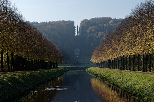 Autumn view of Prinz-Moritz-Kanal, Kleve