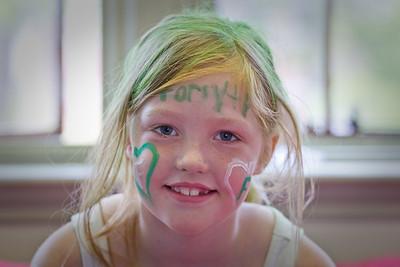 Green & White Faces-1004