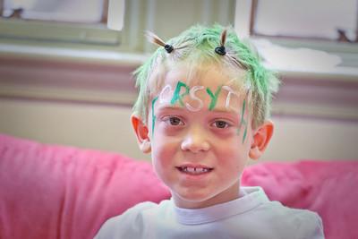 Green & White Faces-1017
