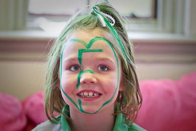 Green & White Faces-1003