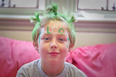 Green & White Faces-1008