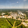 Aerial photo of Fort Benning's Martin Army Community Hospital in 2010. Photo by John D. Helms/MCoE PAO Photographer