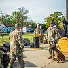 904th Military Working Dog Detachment retirement ceremony