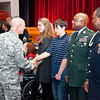 (FORT BENNING, Ga.) December retirement ceremony at McGinnis-Wicham Hall for Fort Benning, Ga.  (Photos by: Patrick A. Albright/MCoE PAO Photographer)