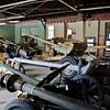 25 FEB 2011 - A few of the many historical Anti-Tank guns that are part of the Armor museum artifacts stored at the TMP on Main Post, MCoE, Fort Benning, GA.  Photo by John D. Helms - john.d.helms@us.army.mil