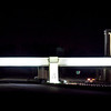 The I-185 Gateway to Fort Benning illuminated at night Dec. 5, 2013. (U.S. Army photo by Ashley Cross/MCoE PAO Photographer)