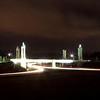 takThe I-185 Gateway to Fort Benning illuminated at night Dec. 5, 2013. (U.S. Army photo by Ashley Cross/MCoE PAO Photographer)
