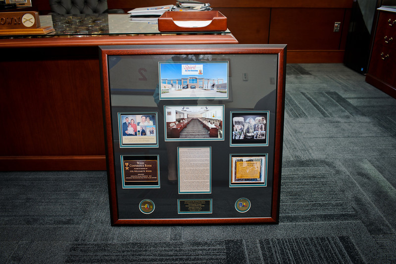 04 NOV 2011 (FORT BENNING, GA) - Dedication of Wood Conference Room in memory of COL William Wood. Photo by Kristian Ogden.