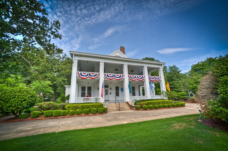 06 JULY 2011 (FORT BENNING, GA) - Historic Riverside decorated for Independence Day. Photo by Kristian Ogden.