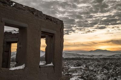 Fort Churchill, Nevada. The Pony Express