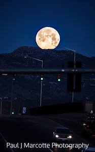 Full Horsetooth Moon