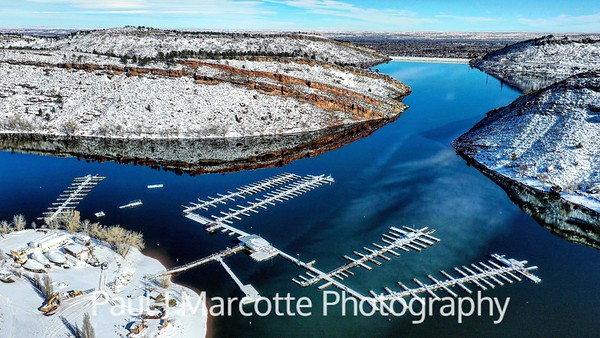 Winter Marina