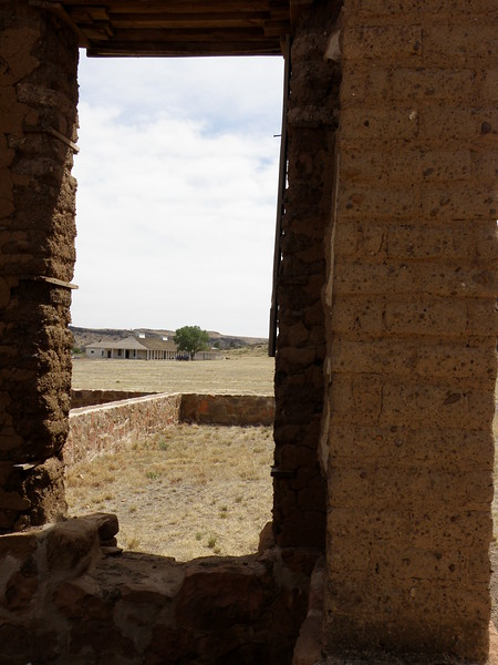 Looking from the Ruins