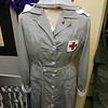 The Fort Devens Museum isnot all about the soldiers it also has displays for the army nurses. This is a1941 volunteer Red Cross uniform. SUN/JOHN LOVE