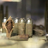 The Fort Devens Museum has a display of items found after the base closed, like these bullets. SUN/JOHN LOVE