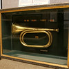 A WWI trumpet is also on display at the Fort Devens Museum. SUN/JOHN LOVE