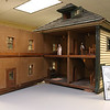 This dollhouse on display at the Fort Devens Museum was built as a gift for Captain Robert Bonner, Quartermaster to give to his nine year old daughter Marion in 1917. SUN/JOHN LOVE
