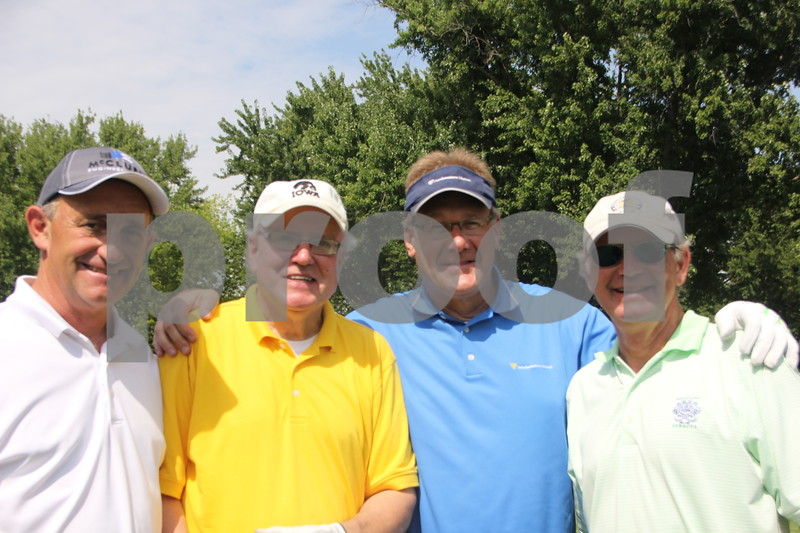 Golfers taking part in the Fort Dodge Chambers of Commerce Golf Outing event  that took place on Thursday, August 6, 2015, are left to right: Jim Bice, Mike Nash, Scott McQueen, Larry Lutz. The event was held at the Fort Dodge Country Club.