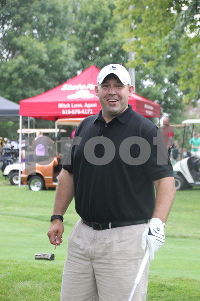 Andy Hejlik was one of the many golfers who took part in the Fort Dodge Chamber of Commerce Golf Outing on Thursday, August 6, 2015 at the Fort Dodge Country Club.
