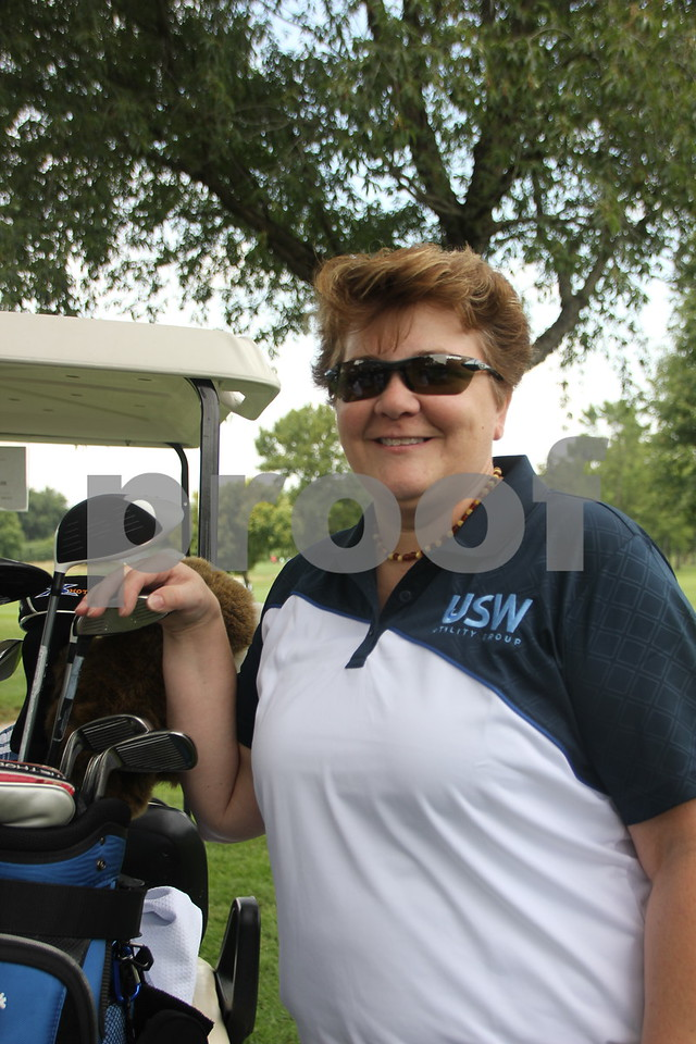 Joanie Hockel took part in the Fort Dodge Chamber of Commerce Golf Outing event held at the Fort Dodge Country Club on Thursday, August 6, 2015.