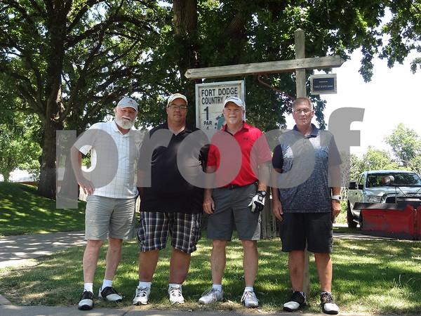 Mike Hogan, Dan Shepard, Ron Cummins, Kirk Temple