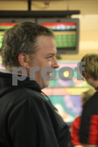 Ridgewood Lanes in Fort Dodge was the scene of the Fort Dodge Senior High Bowling and took place on Thursday, January 14, 2016. Seen here is: Dale Wooten.