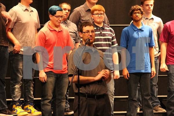 Matthew Drees, Fort Dodge Senior High choir Faculty Member