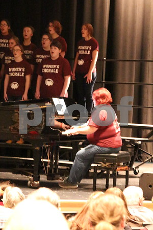 Mary Jo Laupp, Fort Dodge Senior High Choir Faculty Member