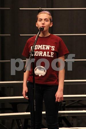"""Nichole Hotzler singing """"I walk the line"""""""