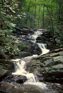 Waterfall at Fort Mountain State Park