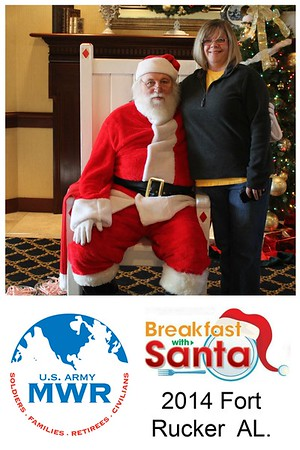 Fort Rucker Breakfast with santa