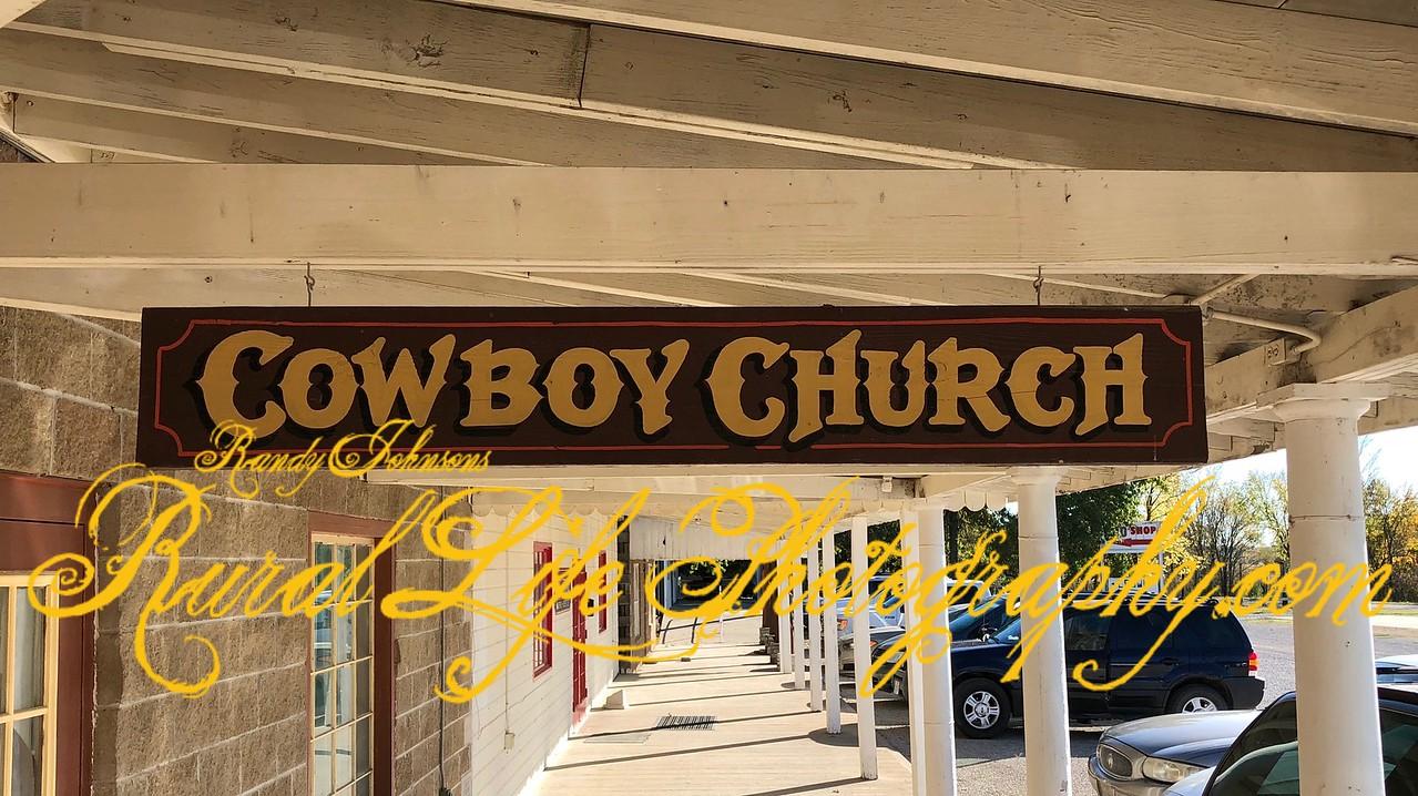 Cowboy Church at Rutladers Louisburg Kansas