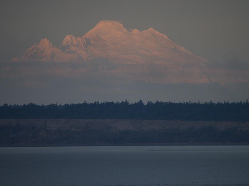 Mount Baker in majestic mode