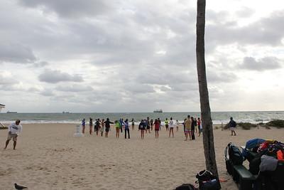 Fort lauderdale Beach Training 2/15/16