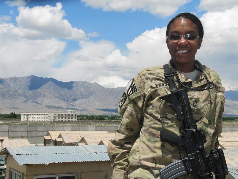 Valarie in Afghanistan