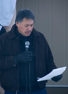 MC Andy Yesno - Senior Advisor to Eabametoong First Nation.
