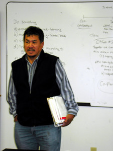 Andy yesno, chief advisor to political leadership of Eabametoong First Nation.