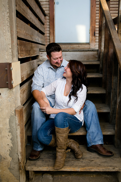 Fort Worth Stockyards Engagement Photography