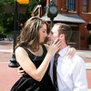 """Dakota and Tori's engagement session photos in Fort Worth, TX at Sundance Square and Trinity Park. Fort Worth wedding photographer. To view more of my work visit my website - <a href=""""http://www.monica-salazar.com"""">http://www.monica-salazar.com</a> <br /> To contact us you can email us at monicasalazarphoto@gmail.com or call 972.746.3557."""
