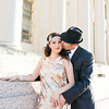 "Elizabeth and Eric's Great Gatsby themed engagement photos. Engagement photos with a 1920's theme, Great Gatsby Movie, historic buildings, art deco, gold engagement dress, vintage train station, historic post office, old Hollywood style, roaring 20s, Fort Worth engagement photographer, Ft Worth engagement photography, Fort Worth wedding photographer. All images are copyright of Monica Salazar Photography <a href=""http://www.monica-salazar.com"">http://www.monica-salazar.com</a> monicasalazarphoto@gmail.com"