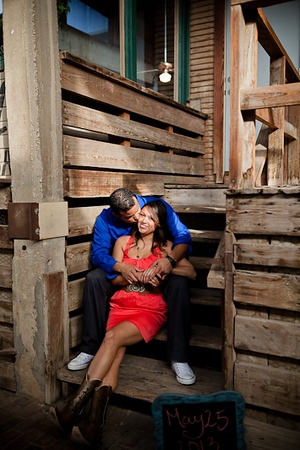 Fort Worth Stockyards Engagement SD