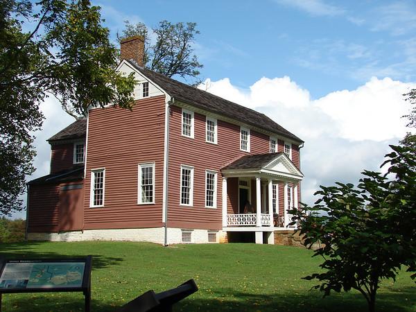 Ellwood Manor on the Wilderness Battlefield.