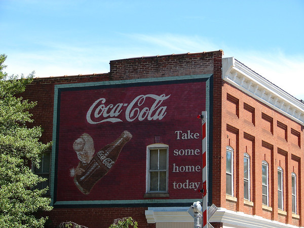 Historic murals are to be found all over Main Street in Orange, VA!