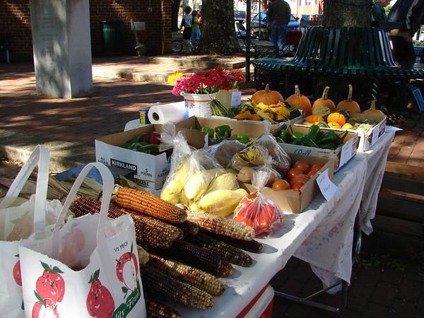 Town of Orange Farmers Market - May thru October.