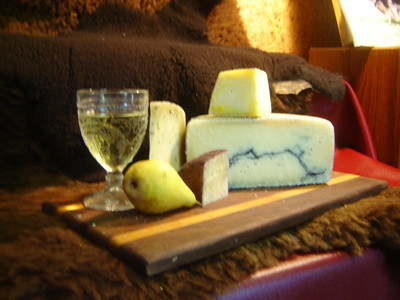 Everona is a renowned sheep's cheese dairy farm!