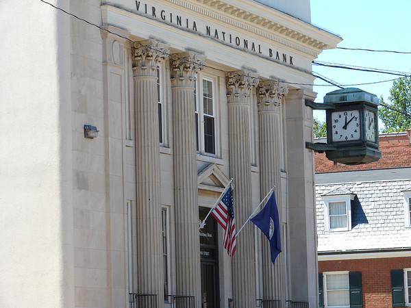 Main Street in Orange, VA is host to centuries of historic architecture.