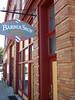 Quaint shops line Main Street in Orange, VA.