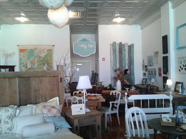 Shabby Love is one of many unique boutique shops on Main Street in Orange, VA.