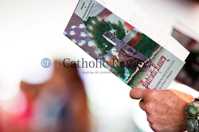 As part of the Fortnight for Freedom, members of the faithful participate in an observance of the Patriotic Rosary at St. Mark, Fallston June 23. TOM McCARTHY JR. | CR STAFF