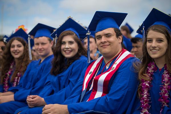 Fortuna and East High graduations